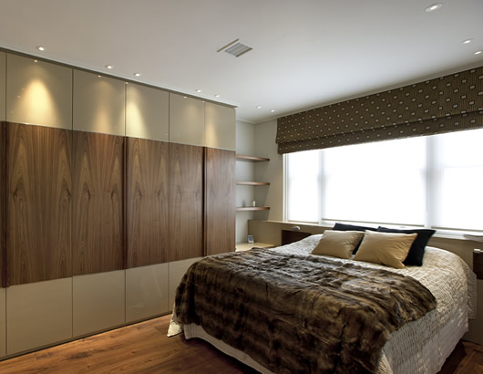 London heritage design and build showroom bedroom 1 for Bedroom designs london